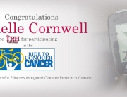 congratulation banner conquer cancer